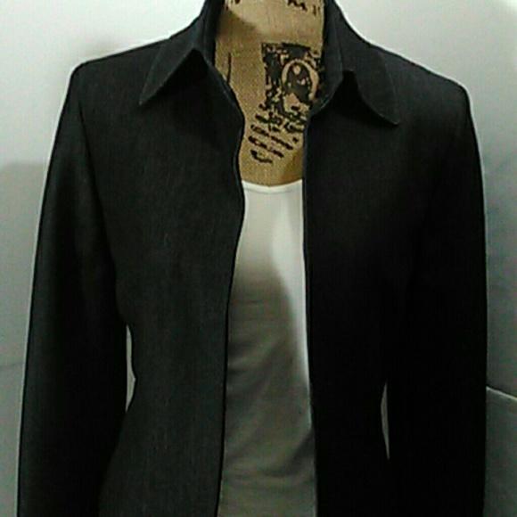 new concept 0ec75 08710 Kasper Jackets   Blazers - BLAZER denims   cotton blend dark wash  lined